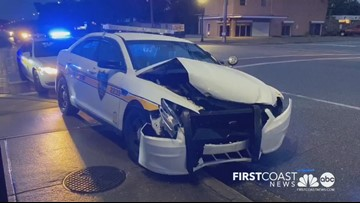 JSO vehicle involved in crash in Arlington area