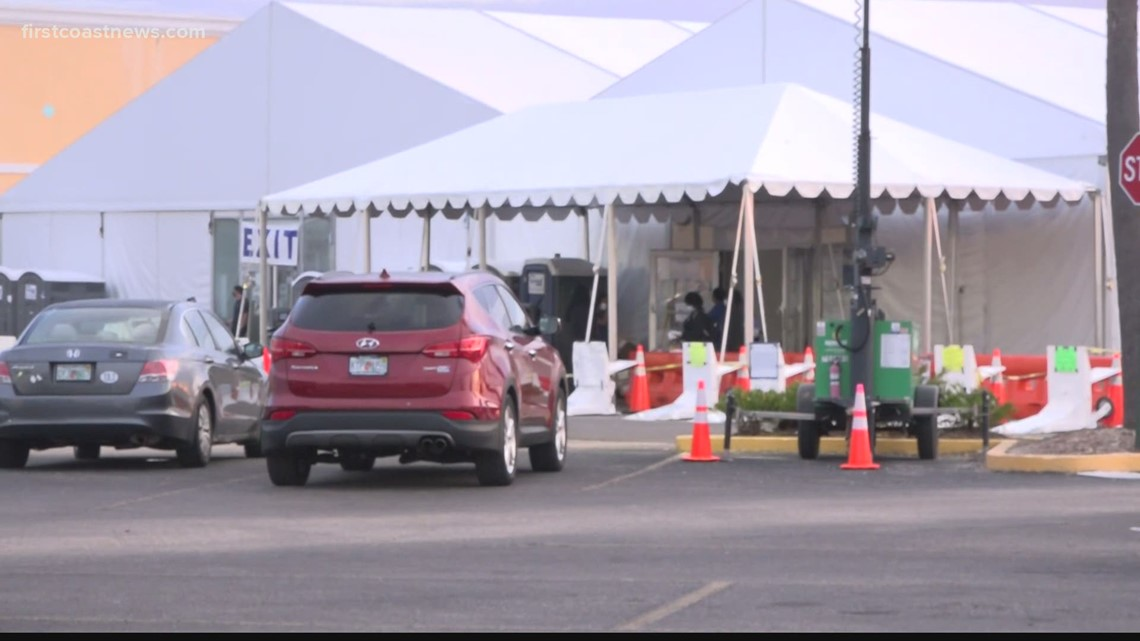 Gateway Mall site seeing less crowds after Johnson & Johnson vaccine 'pause'
