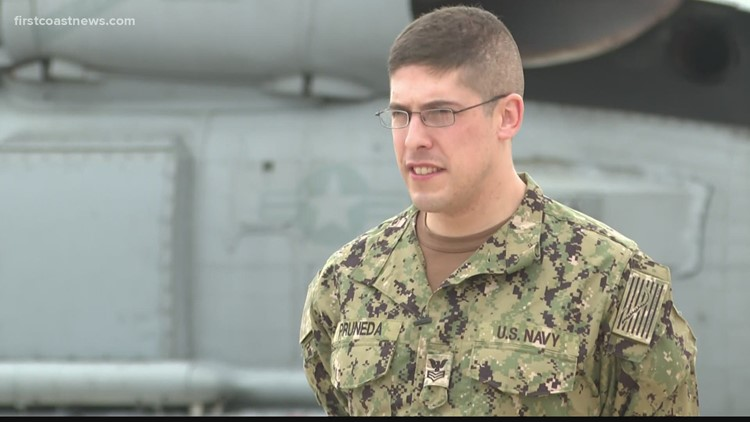 'I hope I didn't fail you': Navy corpsman describes efforts to save Jacksonville teen after shooting
