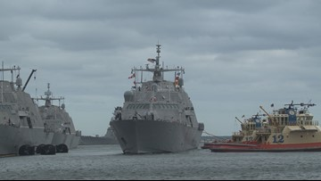 Naval Station Mayport ships ordered to leave ahead of Hurricane Dorian