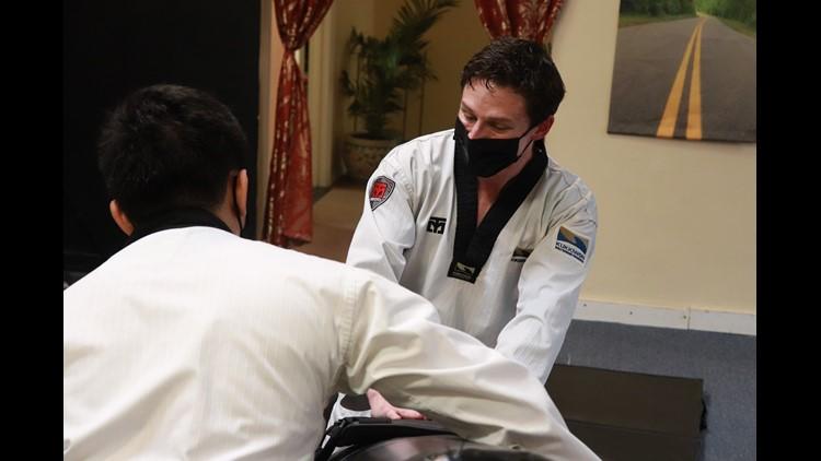 12 Who Care: Jon Powell gives free martial arts training