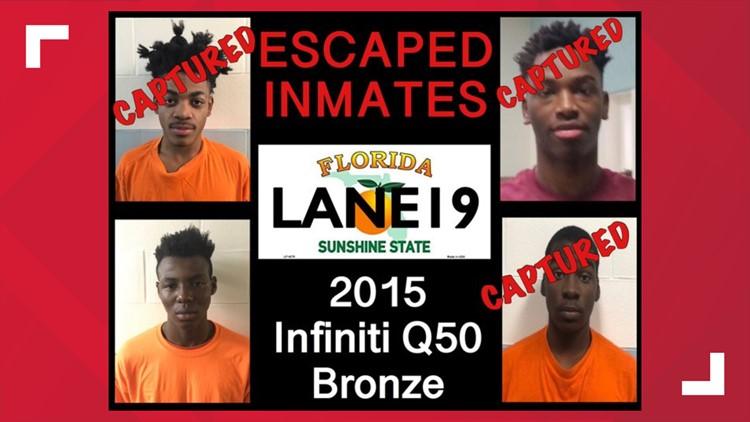 Escaped juvenile inmates