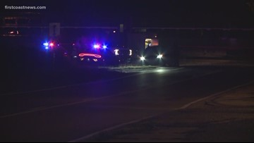 Two people hospitalized after collision with train in Nassau County