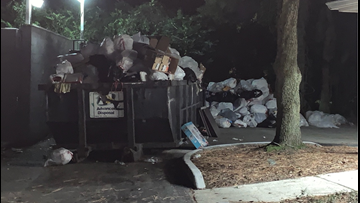 ON YOUR SIDE | Residents argue trash overflow is becoming 'the norm' at Mandarin apartment complex