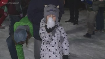 WATCH: 100 percent chance of snow for downtown Art Walk