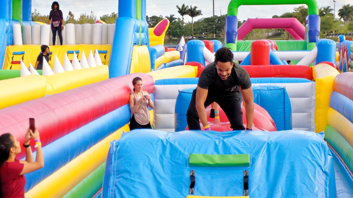 World S Largest Bounce House Inflates In Jacksonville This Weekend Firstcoastnews Com