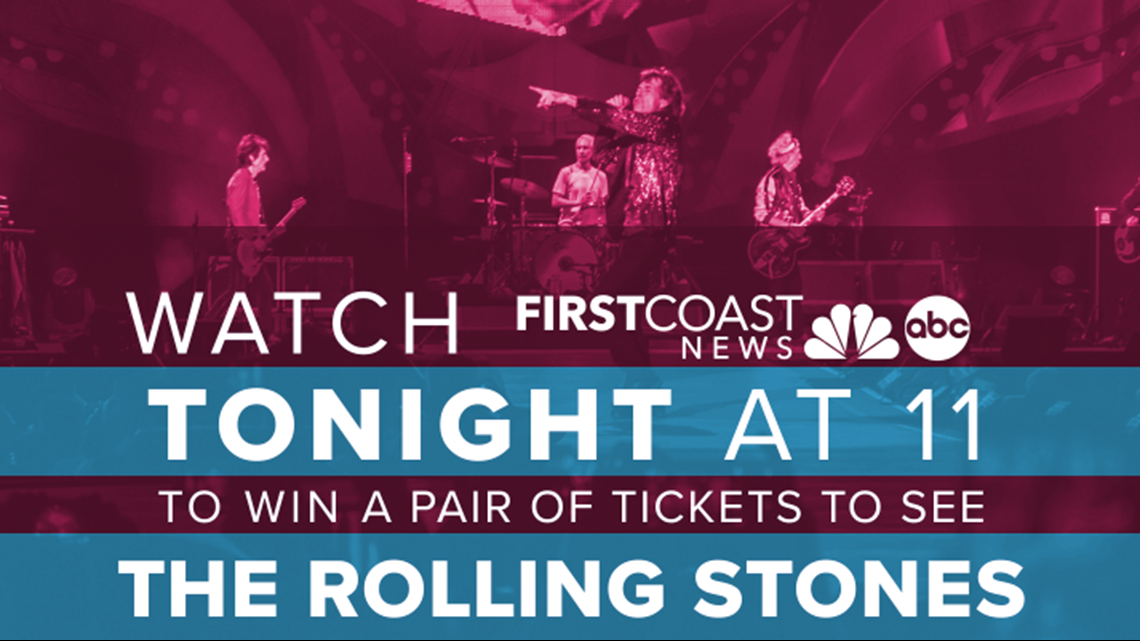 Jacksonville, win tickets to see the Rolling Stones concert!