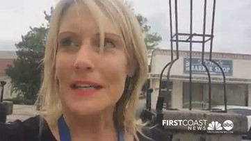 Veteran First Coast News reporter gets choked up by empty St. Augustine streets cleared by COVID-19