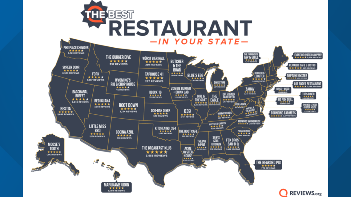 This Jacksonville restaurant rated 'The Best Restaurant' in all of Florida