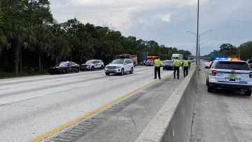 Car vs. motorcycle hit-and-run crash shuts down all southbound lanes of I-95 South
