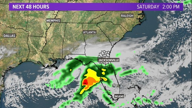 First Coast Forecast: Clouds will not return until later Friday