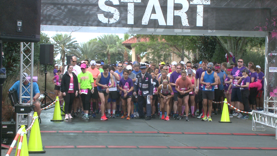 Thousands participate in Donna 5K at TPC Sawgrass