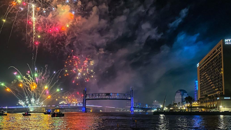 Where and when you can watch July 4th fireworks in Jacksonville, Northeast Florida