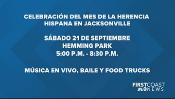 Celebre el Mes de la Herencia Hispana este sábado en Jacksonville