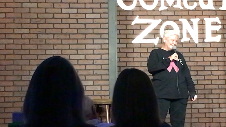 Jane at Comedy Zone