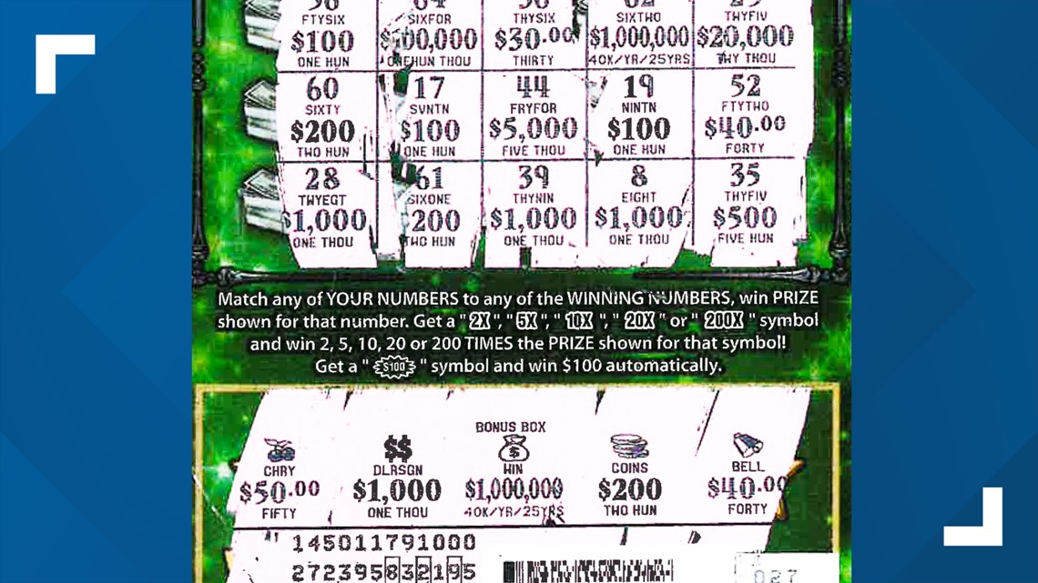 Jacksonville man wins a fast million dollars in scratch-off game