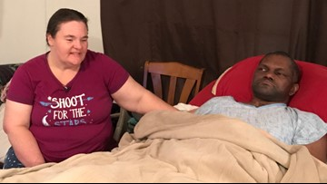 'I'm not willing to give up,' says wife of military veteran in need of health insurance