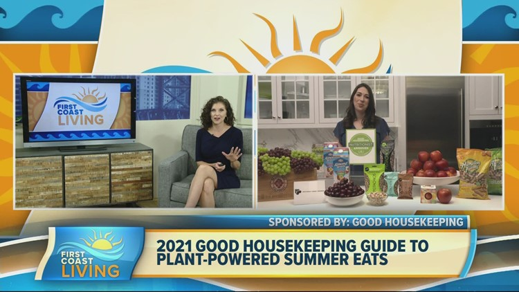 Plant-based snacks that are Good Housekeeping approved (FCL July 21, 2021)
