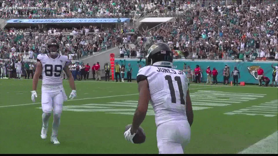 Jaguars offense struggles as Jacksonville falls 23-13 to Broncos