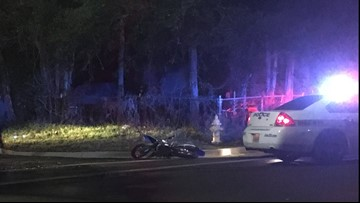 Motorcyclist hospitalized with life-threatening injuries after crash on the Mid-Westside