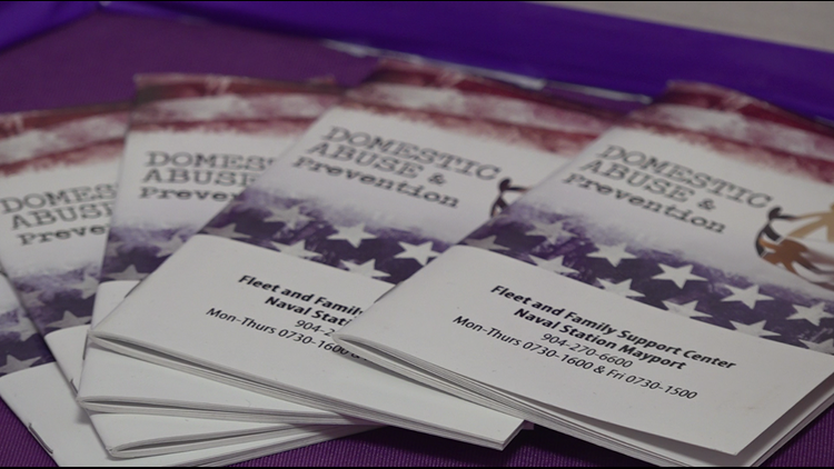 Family Advocacy Program brings awareness to domestic violence within military families