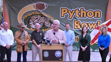2020 Florida Python Bowl kicks-off in South Florida