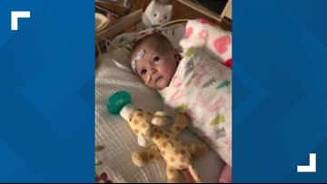 7-month-old St. Augustine girl gets artificial heart transplant, still waiting for her permanent heart