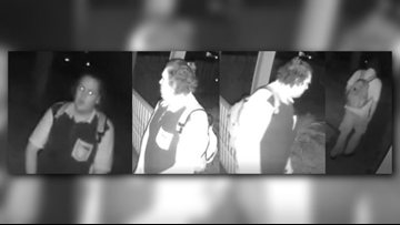 Man caught exposing himself on camera, sought by Jacksonville Beach Police