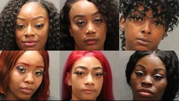 PHOTOS: Police arrest half a dozen women at Northside Gentleman's Club