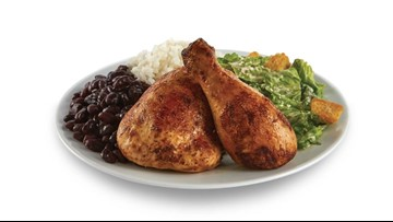 Pollo Tropical offers free chicken dinners to active duty and military veterans