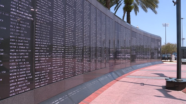 Man's fight to have brother's name on Jacksonville memorial wall looks to National Vietnam Memorial program