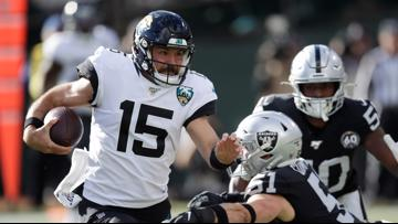 Jaguars snap five-game skid with win in Oakland