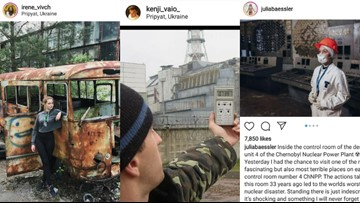 Chernobyl writer urges Instagram users to remain respectful when visiting disaster area