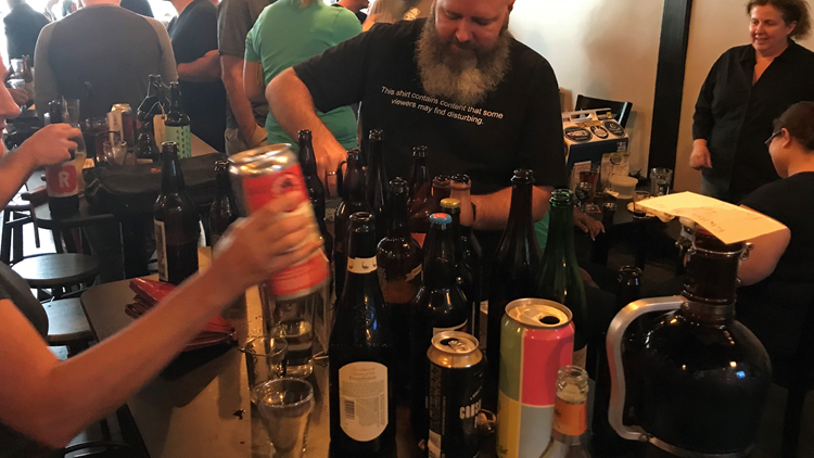 Private bottle share