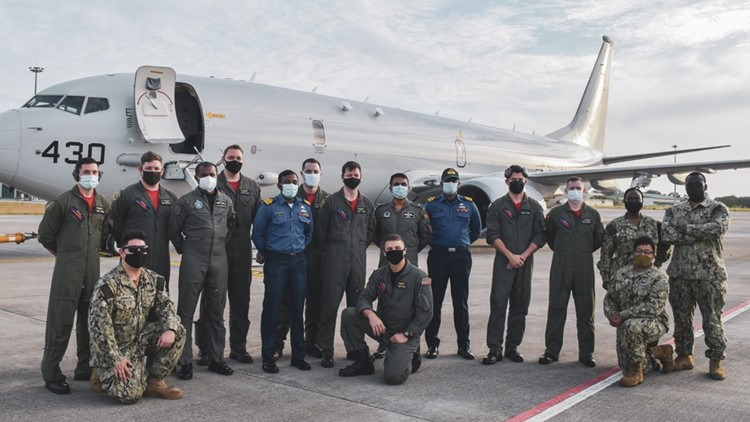 VP-10 'Red Lancers' return to NAS Jax from deployment