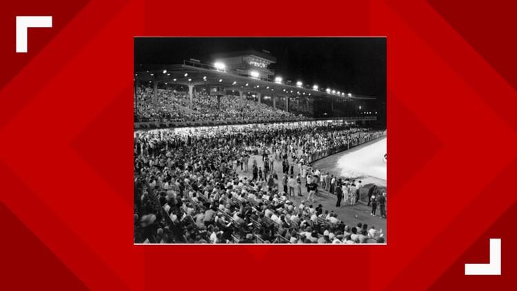 Derby Lane Greyhound Track -- 1986