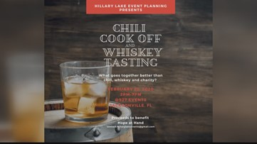 Enjoy chili and whiskey for a great cause (FCL February 20th 2020)