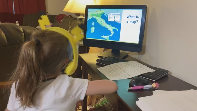 CDC study finds mental, physical impacts on kids who are remote learning