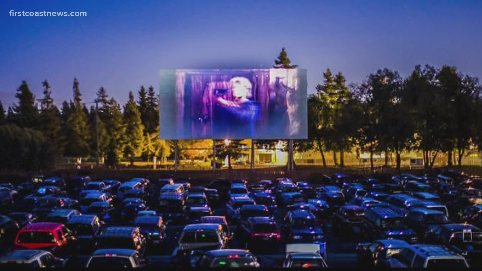 Buzz Walmart Is Transforming Parking Lots To Drive In Movie Theaters This Summer Firstcoastnews Com