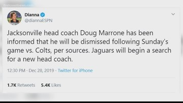 FCN's sports team breaks down whether or not Doug Marrone will get fired at the conclusion of the next Jaguars game