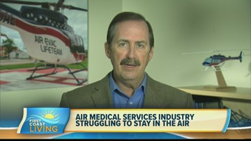 Air medical services industry struggling to stay in the air (FCL July 17th)