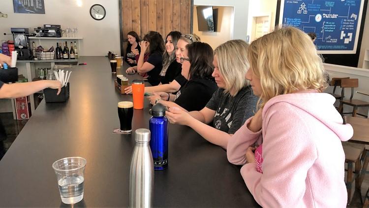Women take over the bar