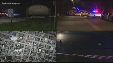 Jacksonville police respond to four shootings in one night