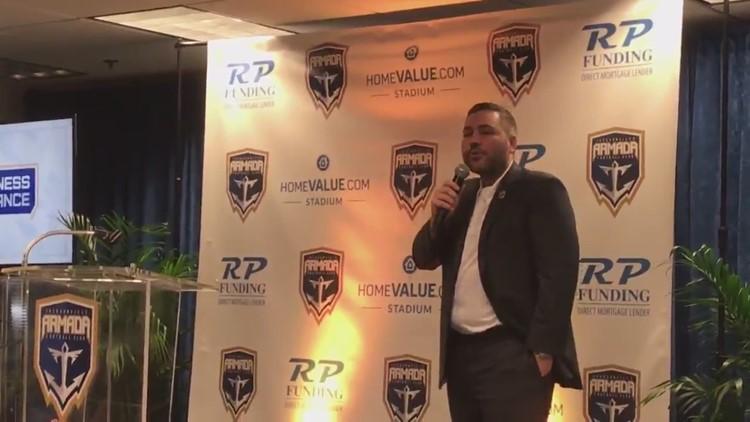 Armada owner announces stadium plans