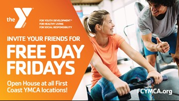 Free Fridays at the YMCA all month long