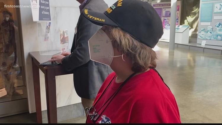Honor Flight: First Coast Honor Flight honoring women who served
