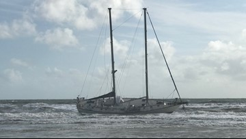 51- foot boat grounded in Atlantic Beach, two occupants safely rescued
