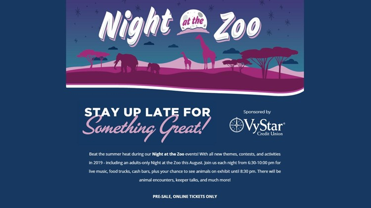 Night at the Zoo canceled Friday night due to weather