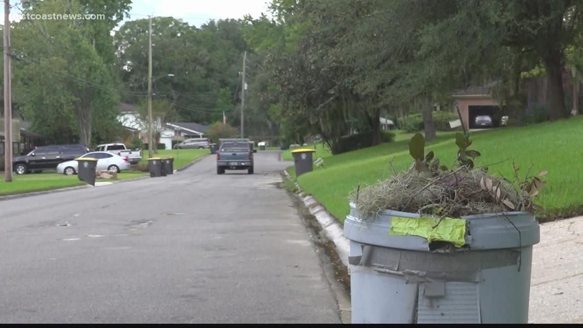 Frustration mounts as trash piles up in neighborhood on Jacksonville's Westside