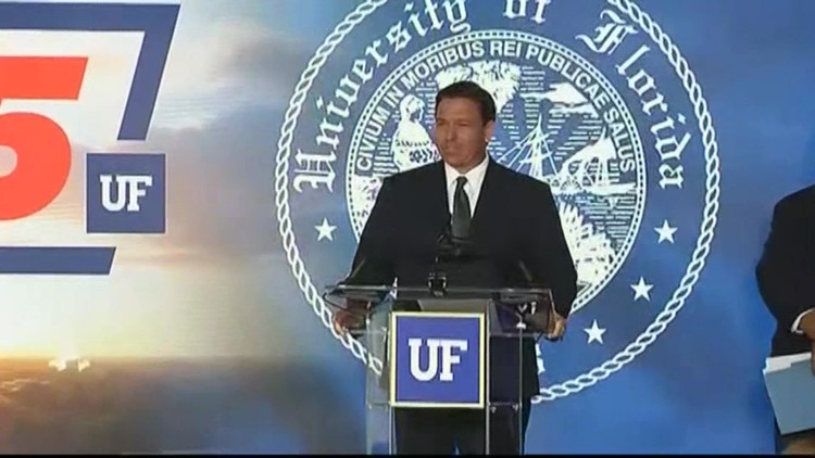 Gov. DeSantis congratulates UF on Top 5 ranking